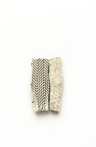 1° Premio SILKE TREKEL Spilla, porcellana, argento, Brooch, porcelain, silver