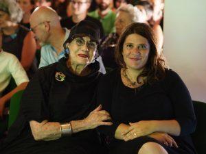 HELEN DRUTT e Presidente Fondazione VERONICA MAFFIZZOLI